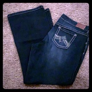 Dark Wash Boot Cut Maurices Jeans